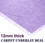 Cheap Carpet Underlay Deal 12mm thick