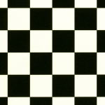 Chess Black & White Cushioned Vinyl