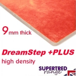 DREAMSTEP 9mm High Density Carpet Underlay