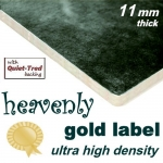 HEAVENLY GOLD LABEL 11mm UHD Carpet Underlay