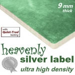 HEAVENLY SILVER LABEL 9mm UHD Carpet Underlay