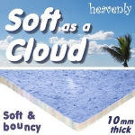 HEAVENLY SOFT AS A CLOUD 10mm Carpet Underlay