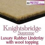 KNIGHTSBRIDGE SUPREME Rubber & Felt Carpet Underlay
