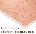 Lowest price Carpet Underlay Deal 10mm thick