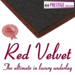 RED VELVET Rubber & Felt Carpet Underlay