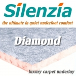 SILENZIA DIAMOND 10mm Carpet Underlay