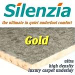 SILENZIA GOLD 11mm UHD Carpet Underlay