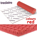 TREDAIRE COLOURS RED Rubber Carpet Underlay