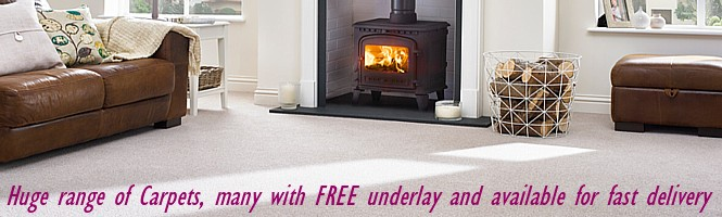 carpets with free underlay